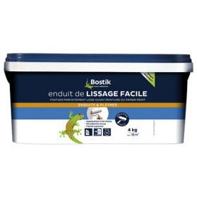 Enduit de lissage facile p te rouleau 4 kg 30604540 for Video enduit de lissage