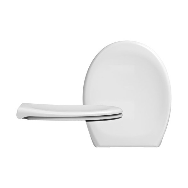 Abattant WC DP Pebble Beach déclipsable - blanc - 531640 - CEDO