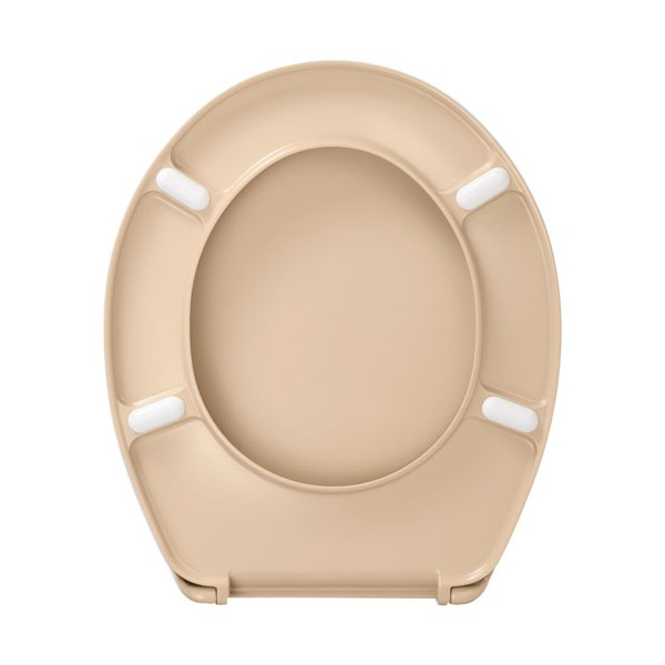 abattant wc marron chocolat ides gallery of abattant wc dp long beach beige with wc couleur beige