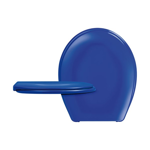 Abattant WC DP Long Beach bleu - 525469 - CEDO
