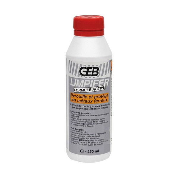 Antirouille Limpifer 0.25 L - flacon - 956491 - GEB