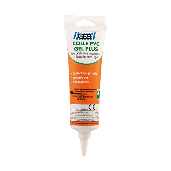 Colle PVC Gel plus - 125 mL - 504644 - GEB