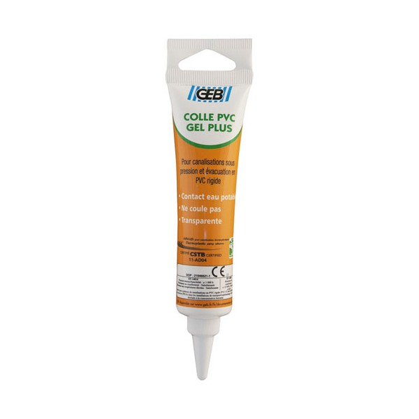 Colle PVC Gel plus - 50 mL - 504643 - GEB