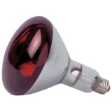 Ampoule infrarouge 250W E27 - rouge