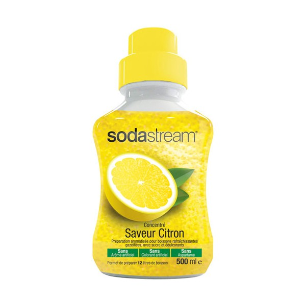 Concentré citron original sodastream - 500 mL - 30061072 - SODASTREAM
