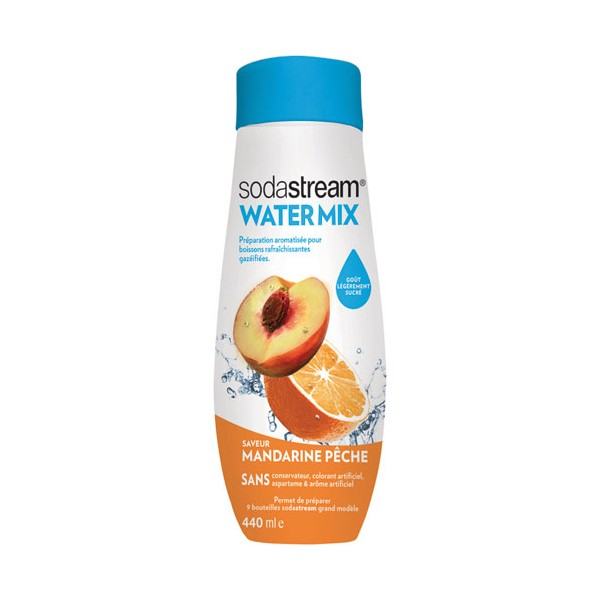 Concentré Water Exciting mandarine pêche sodastream - 400 mL - 30261599 - SODASTREAM