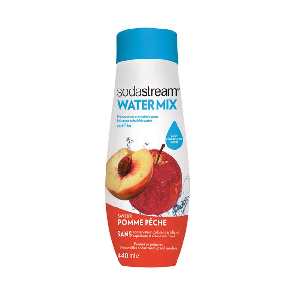 Concentré Water Exciting pomme pêche sodastream - 400 mL - 30261559 - SODASTREAM