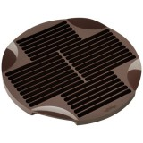 Moule 30 sticks - silicone marron