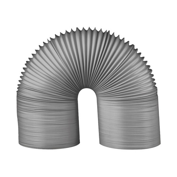 Gaine souple pvc gris D : 125 mm 6ml - 73225 - AUTOGYRE