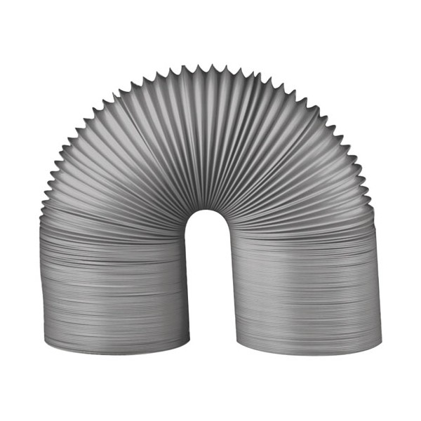 Gaine souple pvc gris D : 80 mm 3ml - 73380 - AUTOGYRE