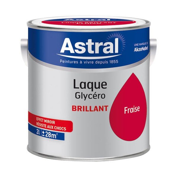 Laque glycéro brillante 2 L - base clear - 5213461 - ASTRAL
