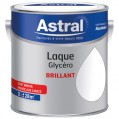 Laque glycéro brillante 2 L - base white blanc