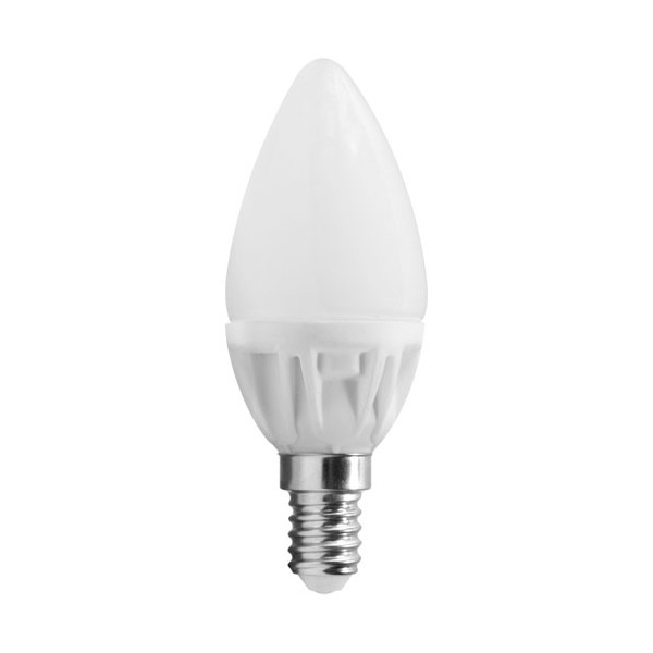Led flamme 5W E14 400 Lm - blanc chaud - DEC/LED5BC-F14 - LUMIHOME