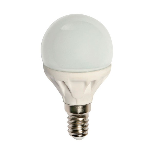 Led sphérique 5W E14 400 Lm - blanc chaud - DEC/LED14-E14 - LUMIHOME