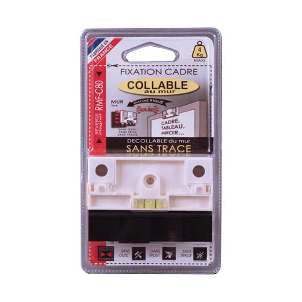 Fixation cadre magnétique collable RMF-C80 - RMF-C80 - REVERSE MAGNET