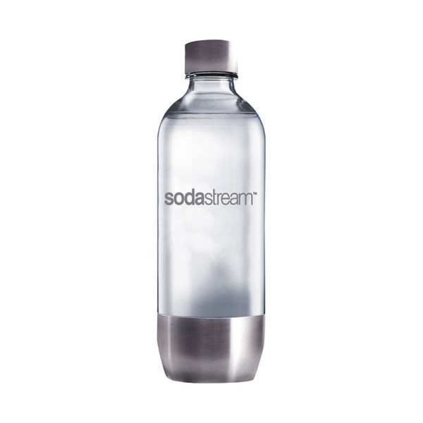 bouteille de gaz ification 1 l m tal 3000082 sodastream home boulevard. Black Bedroom Furniture Sets. Home Design Ideas