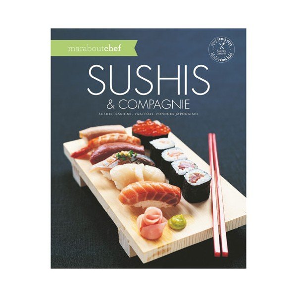 Livre Sushis et compagnie - collection marabout chef - 8233363 - MARABOUT