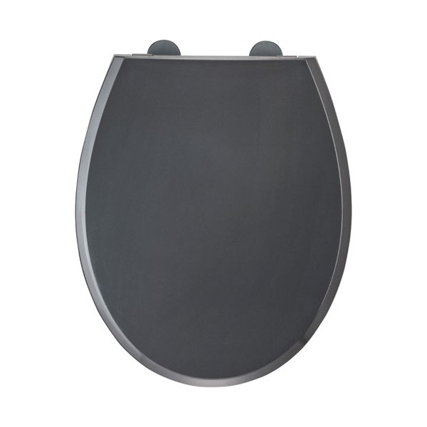 Abattant WC Fally 2 - thermodur - gris anthracite - 818430 - ALLIBERT