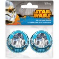 Caissette cupcakes Star Wars D :  4.5 cm - lot de 60