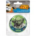 Caissette cupcakes Star Wars D :  6.5 cm - lot de 60