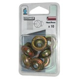 Rosace conique - lot de 10 - 9 mm