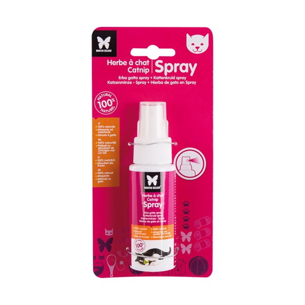 Spray herbe à chat - 60 mL - 96012 - MARTIN SELLIER