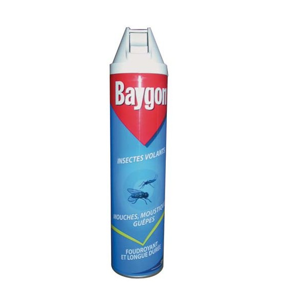 Aérosol insectes volants mouches - 400 mL - BAYGON