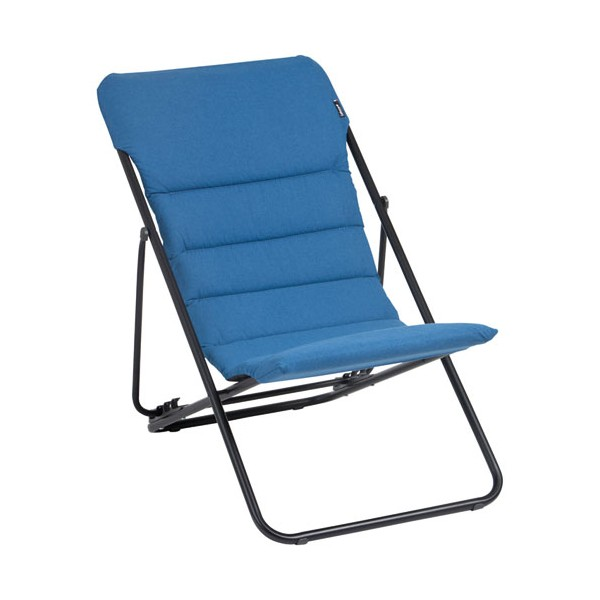 Chaise longue maxitransat Bubble - jeans - LFM2652-7713 - LAFUMA