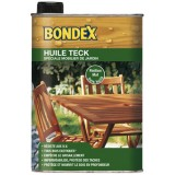Huile protectrice teck, mobilier jardin - 1L