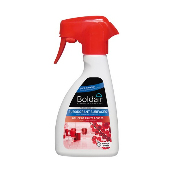 Désodorisant surodorant Fruits rouges - 250mL - PV21254501 - BOLDAIR