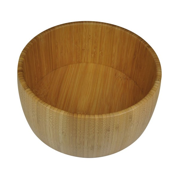 Saladier rond D:25 cm - bamboo - PV-BAM-1099 - POINT VIRGULE