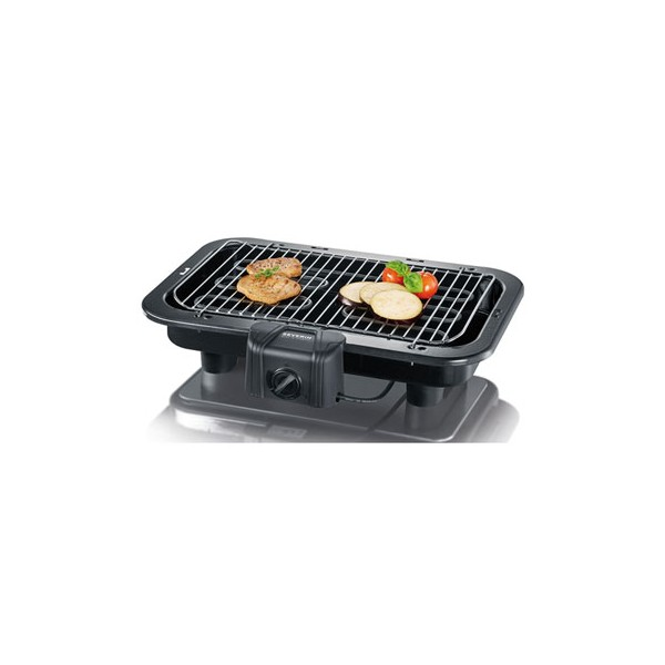 Barbecue grill lectrique poser pg9745 2500 w 9745 severin home boulevard - Grill barbecue electrique ...