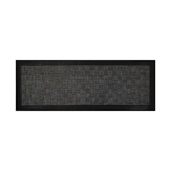 Tapis anti-fatigue gris métal - 45 x 120 cm - ANTIFATIGUE4512 - ID MAT