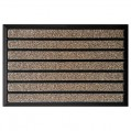 Tapis grattant combi brush marron - 45 x 75 cm