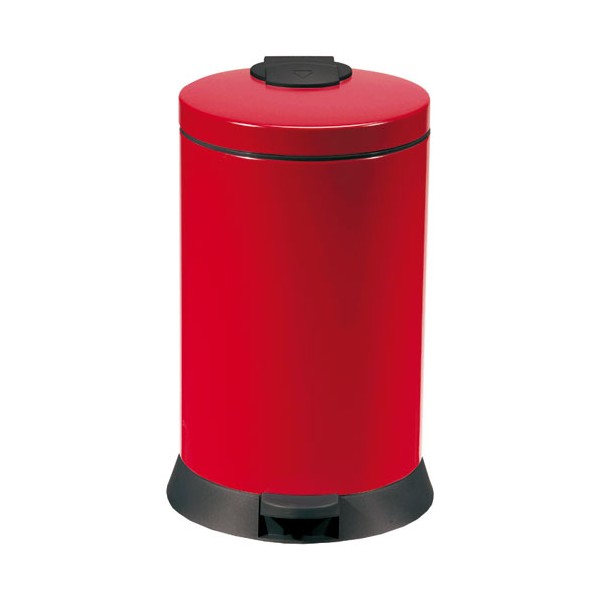 Poubelle de cuisine Magic 20L - rouge - 94075 - ROSSIGNOL