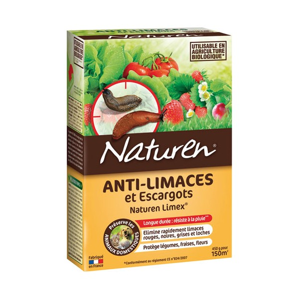 Anti-limaces / escargots granules - 450g - NLIMEX45 - NATUREN