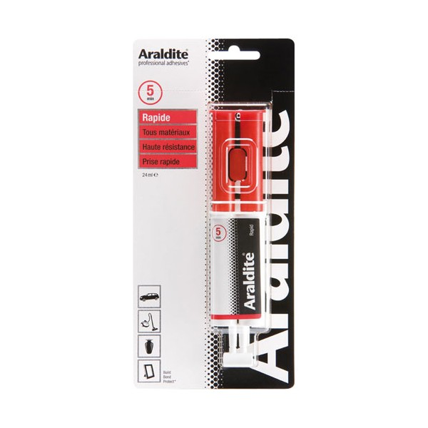 Colle araldite rapide seringue - 24mL - 33401008 - ARALDITE