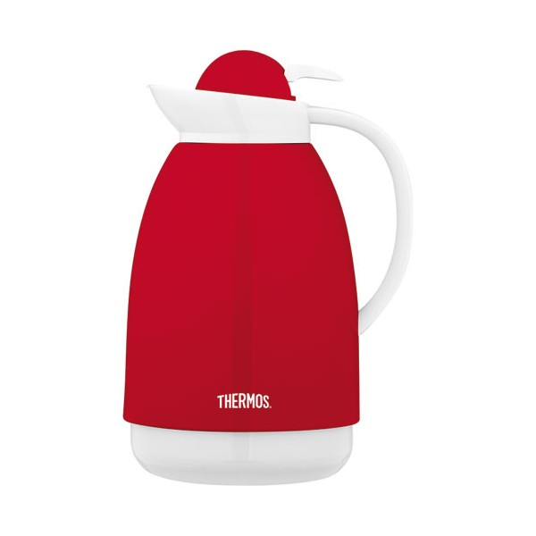 Carafe isotherme 1L - rouge, blanc - 101967 - THERMOS