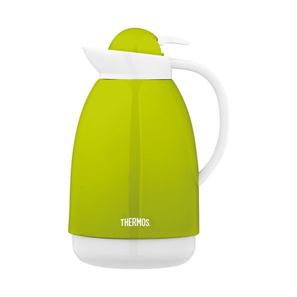 Carafe isotherme 1L - vert, blanc - 101951 - THERMOS
