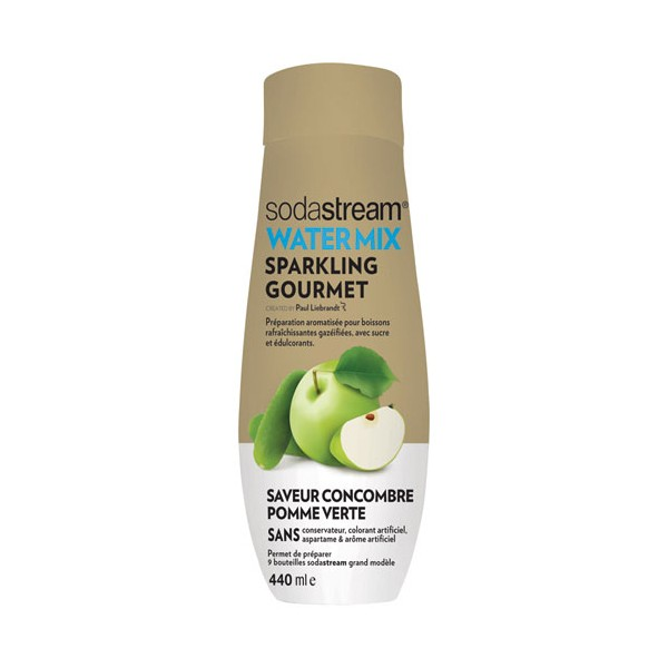 Concentré concombre pomme verte Water exciting - 440mL - 30261686 - SODASTREAM