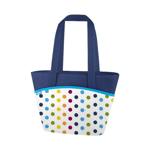 Sac bandoulière isotherme lunch Multi dots - 7L - 153850 - THERMOS
