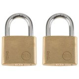 Cadenas laiton mat 40mm - lot de 2