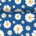 Chemin de table Daisy 0.4x4.8m - bleu