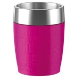 Travel cup 0.20L inox - framboise