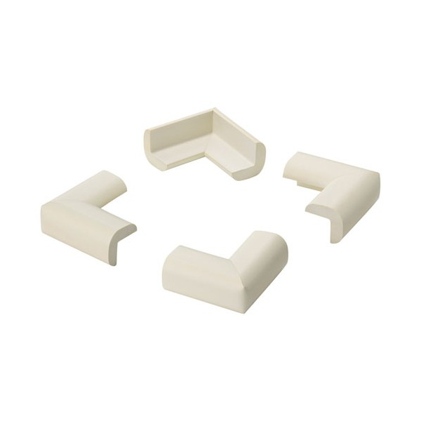 Protection de coin adhésive blanc - lot de 4 - 5002-2- - INOFIX