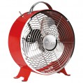 Ventilateur design D : 25cm 20W - rouge - VE-5963 - Tristar