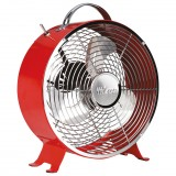 Ventilateur design D : 25cm 20W - rouge