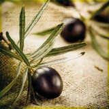 Serviette en papier Farm olives - lot de 20