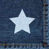 Serviette en papier Star jeans - lot de 20