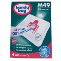 Lot de 4 sacs aspirateur non tissé - m49 - MIELE - M49 - Handy bag